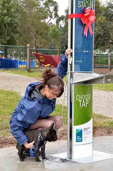 Water Refill Stations and Drinking Fountains