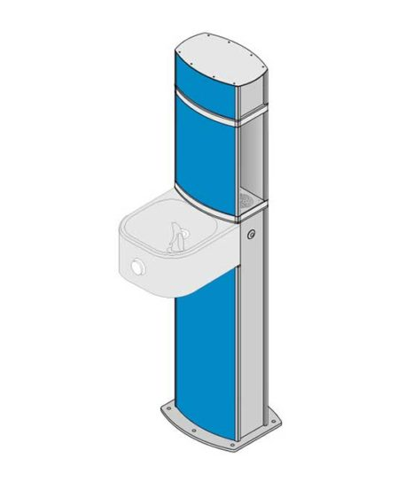 aquafilUS Pulse Refill Station and Drinking Fountain
