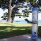 aquafilUS water station at a coastal park